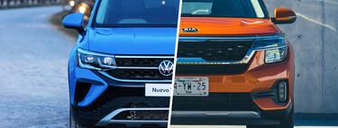 KIA Seltos vs. Volkswagen Taos, ¿cuál es mejor? Analizamos sus versiones más parecidas