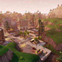 Guía Fortnite Battle Royale: mapa y vídeo para el desafío sigue el mapa del tesoro de Parque Placentero