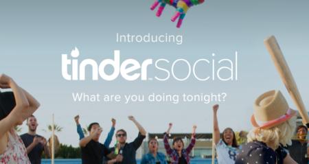 Tinder lanza Social, una nueva función para hacer citas grupales