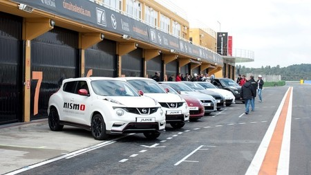 Gama deportiva Nissan, prueba en circuito (parte 1) Juke Nismo, Juke R y Leaf Nismo RC