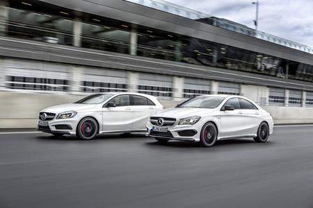 Mercedes Clase A y CLA