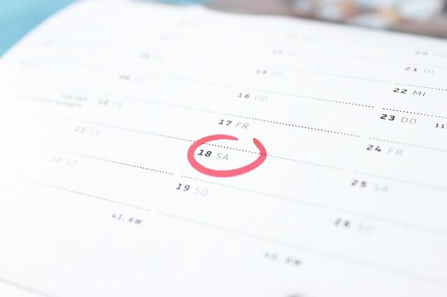 Ponte fechas límite para ser más productivo