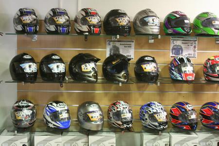 Tienda de cascos