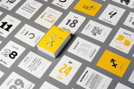 Typodarium 2015, un calendario para los tipoadictos