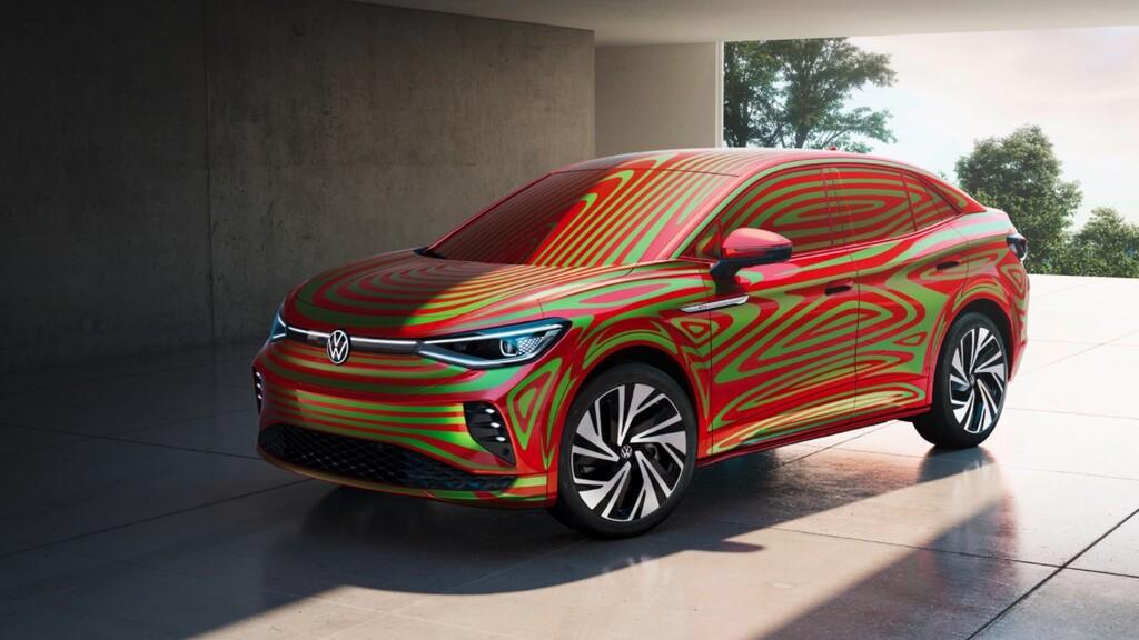 El Volkswagen ID.5 ya se deja ver: un SUV coupé más deportivo que el ID.4 con hasta 540 kilómetros de autonomía