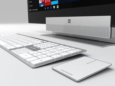 ¿Os apetece un ordenador Surface tipo todo-en-uno? Lo conoceremos en octubre