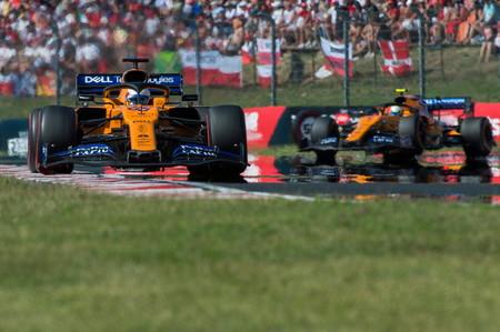 Sainz Norris Hungria F1 2019