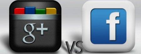 gplus vs facebook