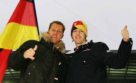 Sebastian Vettel espera que Michael Schumacher encuentre un volante para 2013