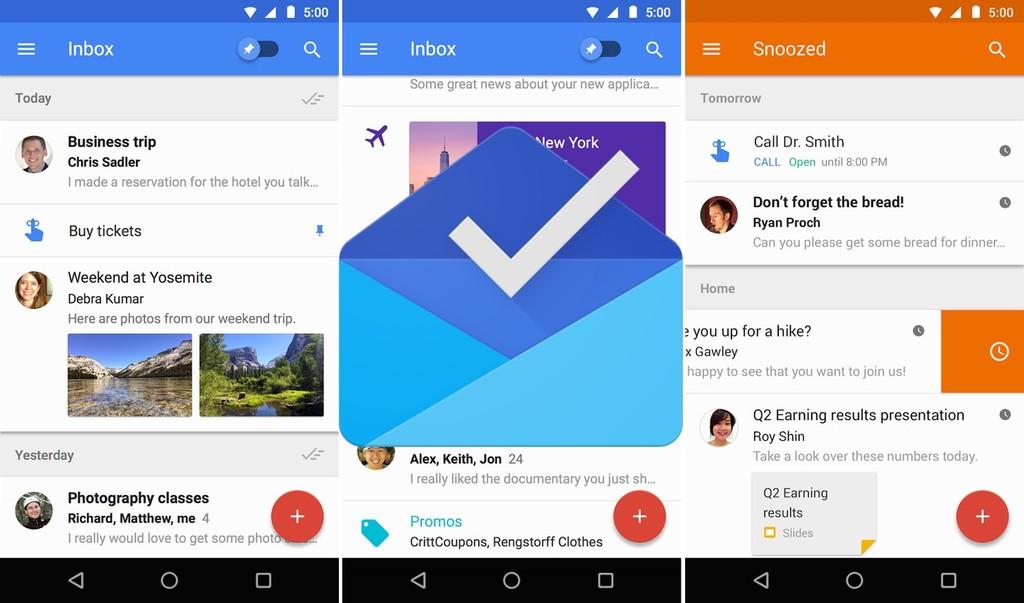 Google ratifica que Inbox dejará de actualizarse a principios de 2019