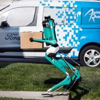 Ford está probando robots autónomos sin cabeza para que en dos años hagan el trabajo de los repartidores