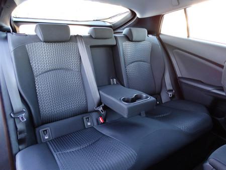 Asientos Prueba Toyota Prius 2016 Interiores