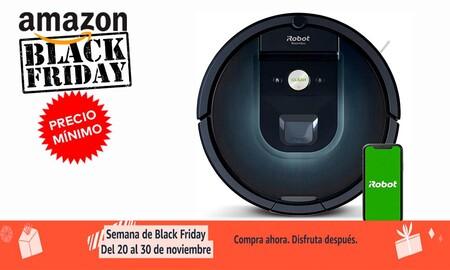 El robot aspirador Roomba 981 más barato que nunca en el Black Friday de Amazon: 379 euros