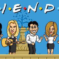 Así se verían Friends, el Príncipe de Bel-Air y más series míticas si fueran en 8 bits
