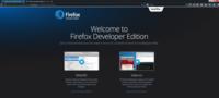 Firefox Developer Edition, primer vistazo