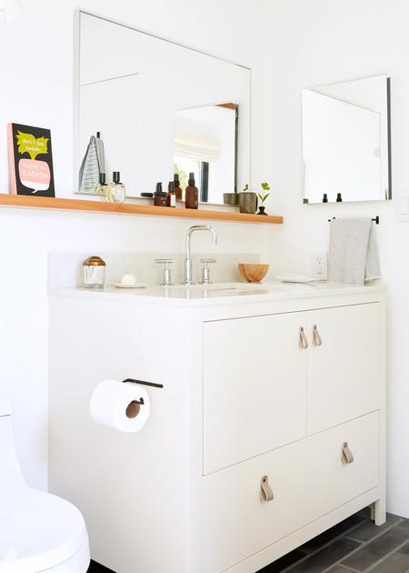 Que no falte de nada en los cuartos de baño; dónde y cómo colocar los toalleros y portarrollos