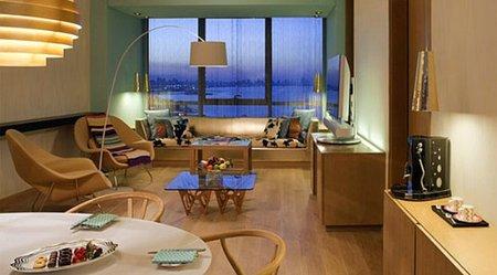 Dormitorio del hotel Missoni Kuwait