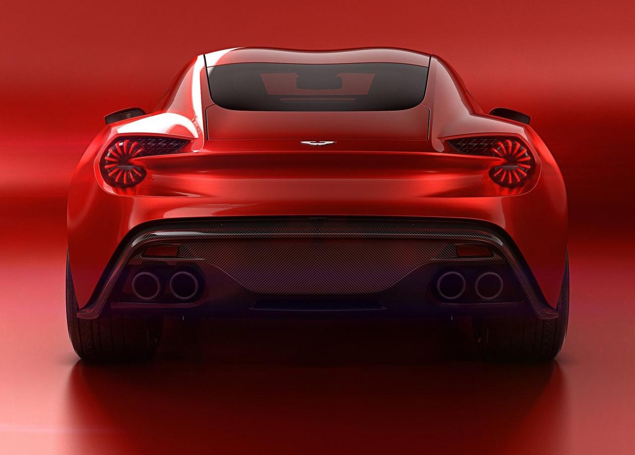 Foto de Aston Martin Vanquish Zagato Concept (8/9)