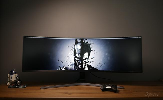 Samsung C49HG90, análisis: todo lo bueno de las configuraciones multimonitor pero con una sola pantalla