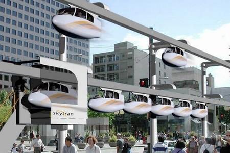 SkyTran, las capsulas de transporte por levitación que empezarán a funcionar en Israel