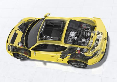 Porsche 718 Cayman GT4 radiografía