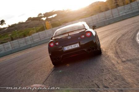 Nissan GT-R 2013 prueba