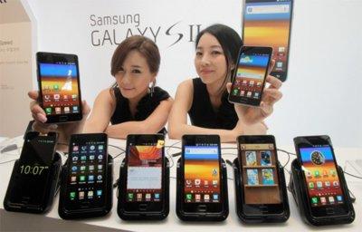 Samsung Galaxy SII aparecerá en 140 operadoras a nivel mundial