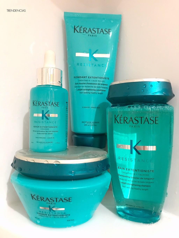 Probamos la linea termina Résistance Extentioniste de Kérastase, para un pelo mucho mas resistente y resistente