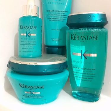 Probamos la línea completa Résistance Extentioniste de Kérastase, para un cabello mucho más resistente y fuerte