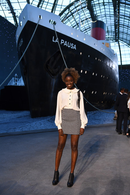 Karidja Toure Chanel 2018 19 Cruise Collection 2