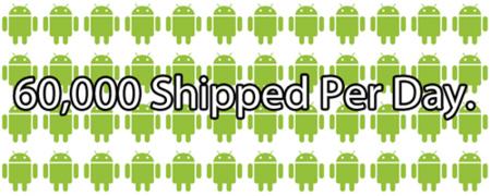 """Eric Schmidt : """"60.000 teléfonos Android al día"""""""