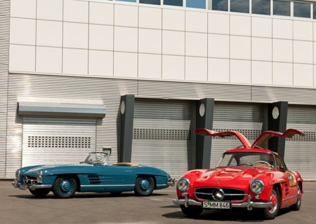 Mercedes Benz 300 Sl Gullwing 1954 800x600 Wallpaper 1a