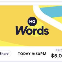 Así es HQ Words, el nuevo juego de los creadores de HQ Trivia para iOS y Android