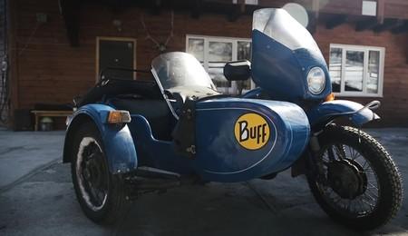 The Ice Run Ural Moto
