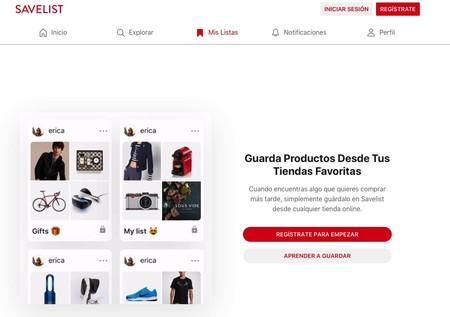294d307b9 En este caso podemos usar Whislistr o Whishlist, donde podremos listar lo  que buscamos y añadir un enlace de compra, así como compartir con otros  usuarios.