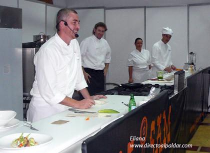 Alex Atala en el SIG 2007