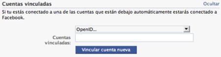 Facebook acepta OpenID como identificador