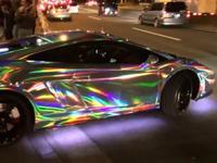 Dolorpasión™: el Lamborghini que cambia de colores.