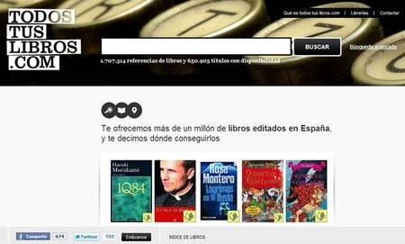 Nace 'Todos tus libros', un portal para localizar tus lecturas