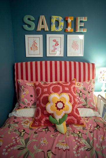 La cama de Sadie.
