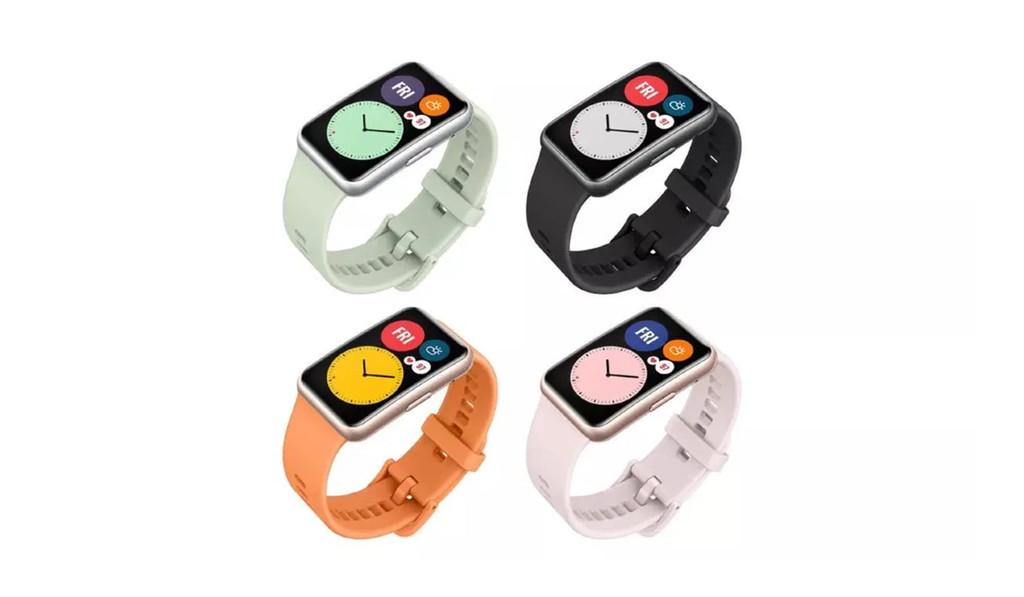 Huawei Watch Fit: el mas reciente smartwatch de Huawei® con pantalla OLED y medición de oxígeno en sangre