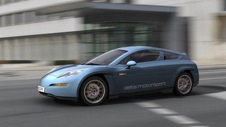 Delta Motorsport E4 coupe, nuevo deportivo eléctrico europeo