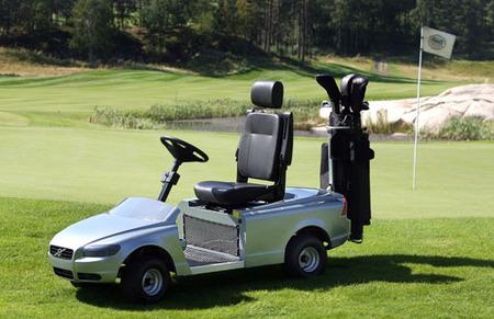 El primer Volvo eléctrico es un carrito de golf
