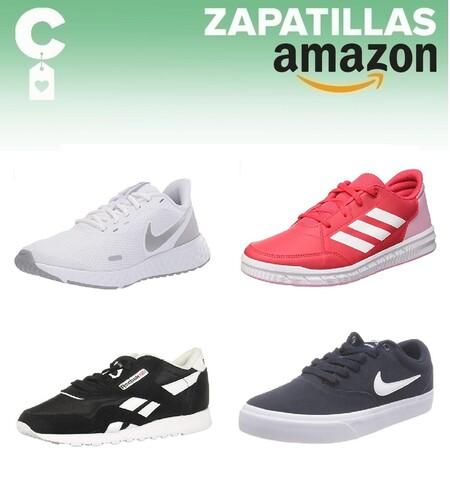 Chollos en tallas sueltas de zapatillas Reebok, Adidas o Nike por menos de 40 euros en Amazon