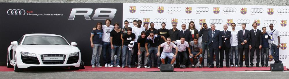 Foto de Entrega coches jugadores Barça y Real Madrid 2009 (1/7)