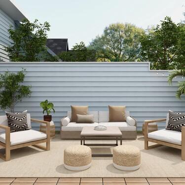 Tres ideas de conjuntos para terrazas y balcones pequeños que llenarán de optimismo tu primavera en casa