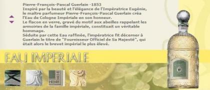 Fragancias con historia (I): L'Eau Impériale de Guerlain, 1853