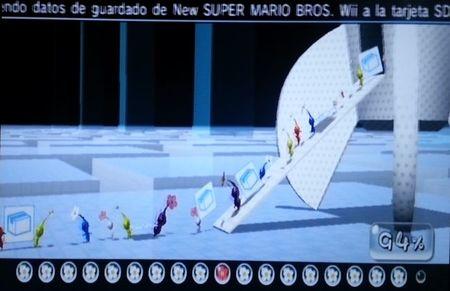 Transferencia de datos a Wii U