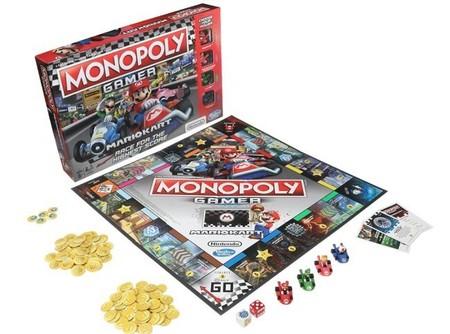Mario Kart ya cuenta desde hoy con su propia versión oficial de Monopoly