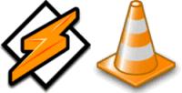 VLC y Winamp 5.1 Lite portables